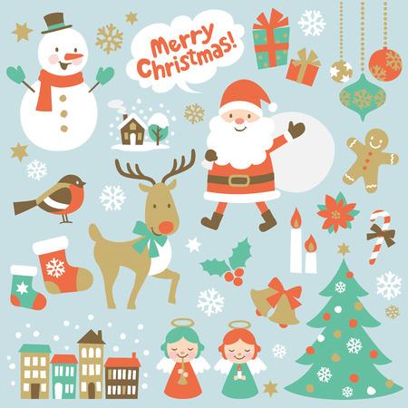 velas de navidad: Navidad Vectores