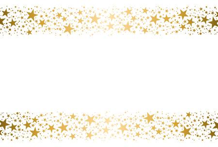 Estrelas douradas Foto de archivo - 49930683