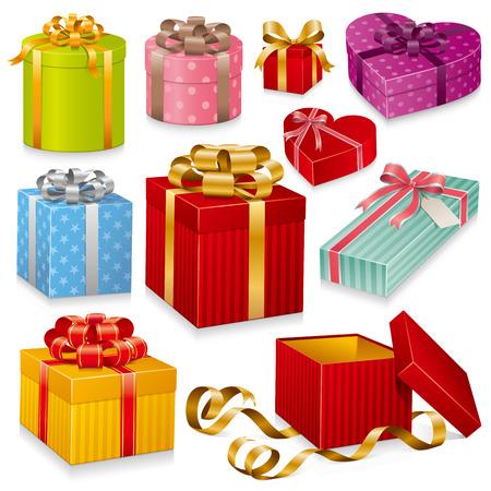 Serie di confezioni regalo