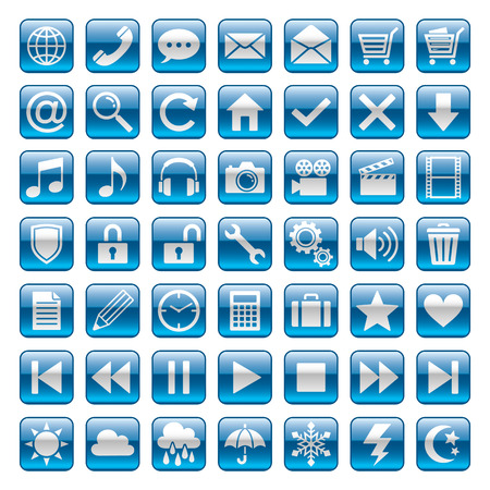 Icon Stock Vector - 50884652