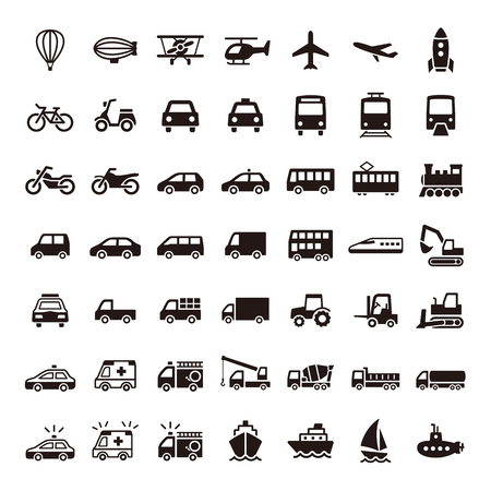 vehicle: Icon Illustration