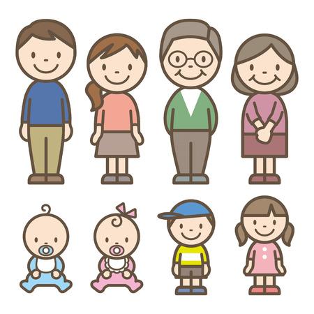 Family Vectores