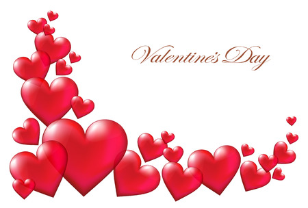 Valentines day background Ilustrace