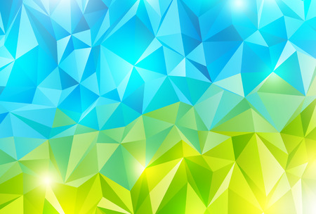 gradation: Abstract polygonal background