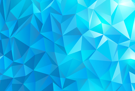 Abstract polygonal background