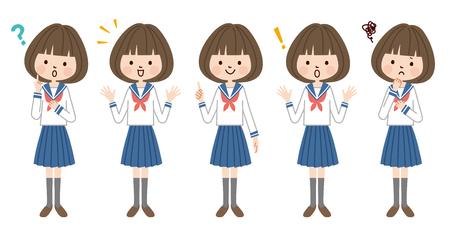 Junior high school student