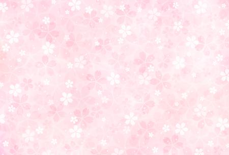 Sakura blossoms background Vettoriali