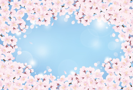 Cherry blossom Stock Vector - 54006438