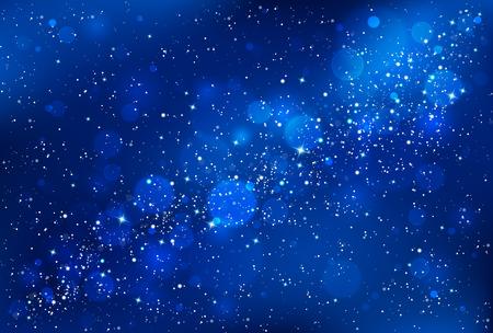 Night sky background Vettoriali