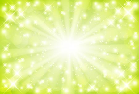 Green background Vectores