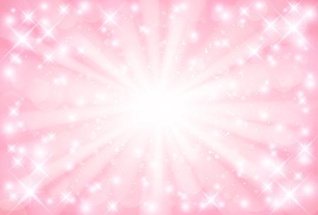 Pink background  イラスト・ベクター素材
