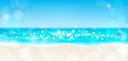 Tropical beach  イラスト・ベクター素材