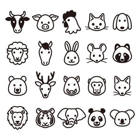 animal: Animal icons