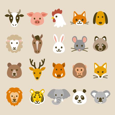 動物のアイコン 写真素材 - 63928596