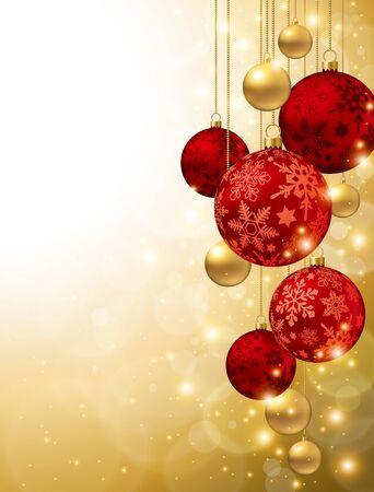 Christmas ornaments Ilustração