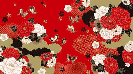 Japanese background