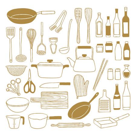 Kitchenware  イラスト・ベクター素材
