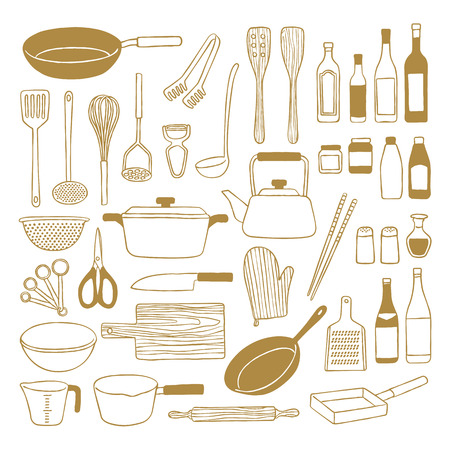 Kitchenware Stock Illustratie