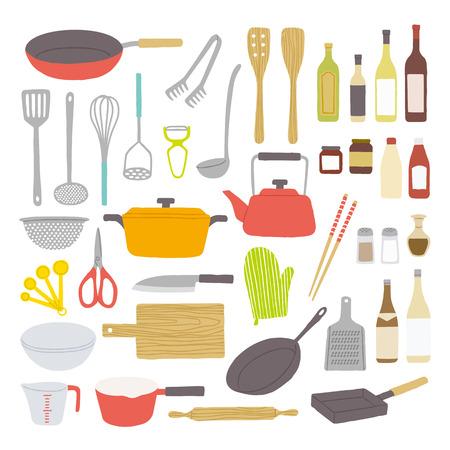 Kitchenware 向量圖像