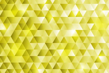 Gold triangle pattern background
