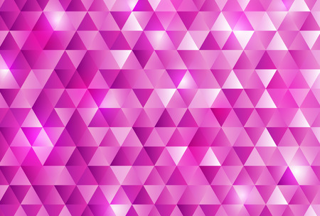 Pink triangle pattern background