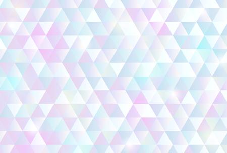 Fondo de patrón de triángulo de color pastel Ilustración de vector
