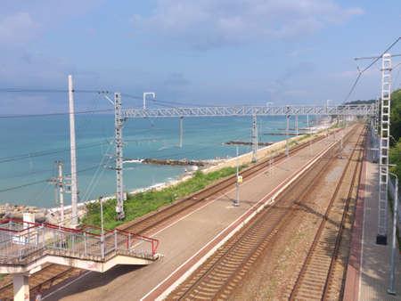 railroad station: railroad station