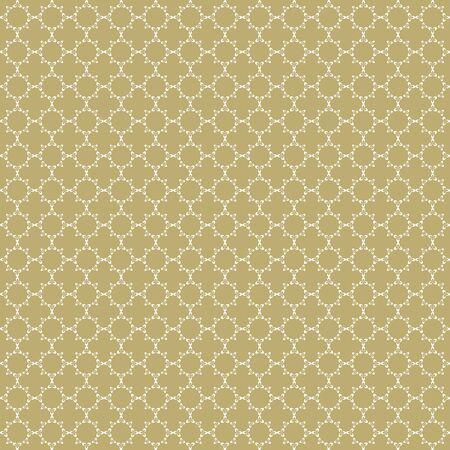 Elegant Pattern Gold Background