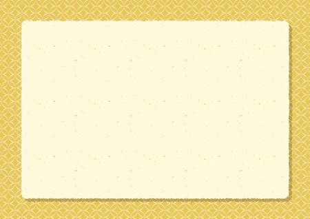 Japanese background frame Ilustrace