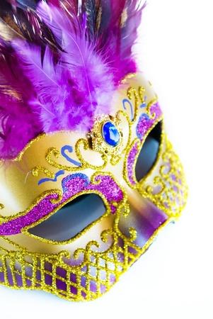 masked woman: m�scara