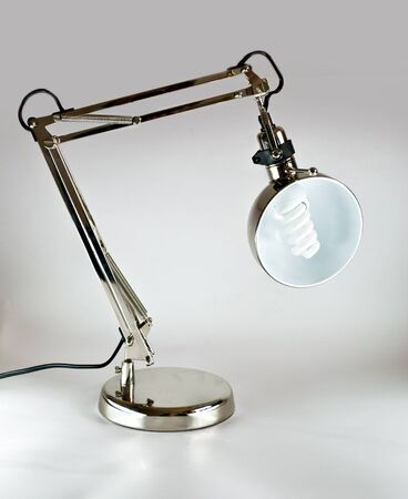 spot lit: lamp