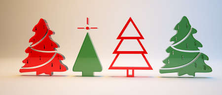 newyear: new-year tree  Stock Photo
