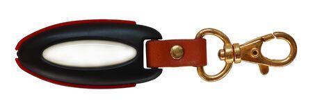 keyholder: Elegant key holder isolated on a white background Stock Photo