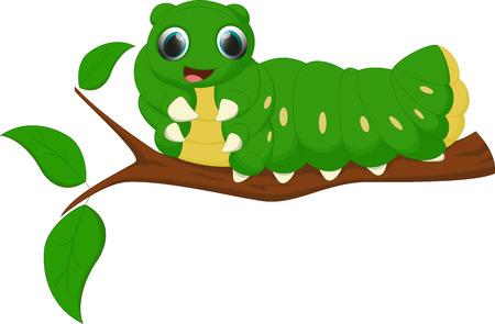 caterpillar cartoon: cute caterpillar cartoon