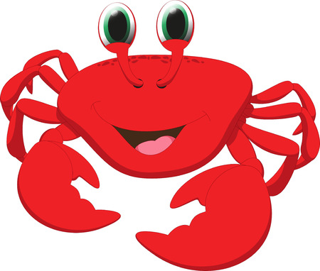 crab cartoon: cute crab cartoon