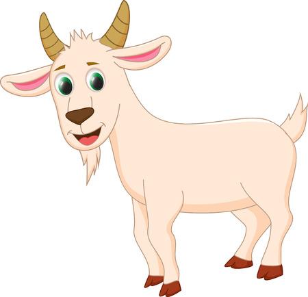 cabras: linda de la historieta de cabra