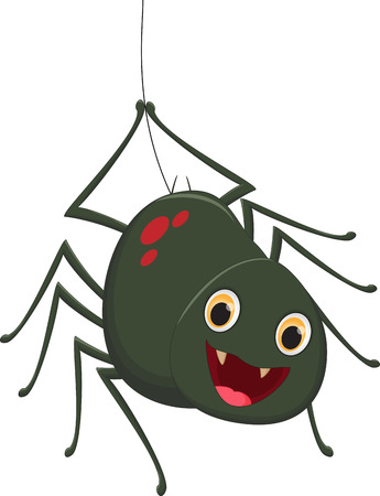 arachnid: Cute spider cartoon