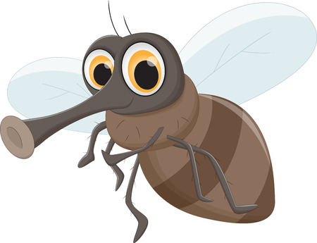 nuisance: cute Fly cartoon