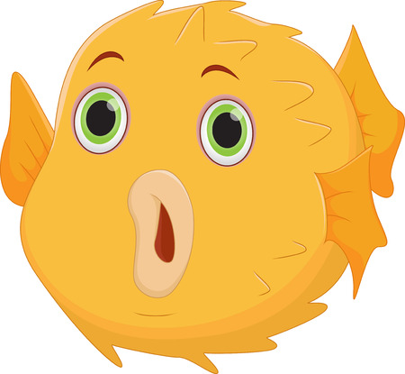 puffer: puffer fish cartoon