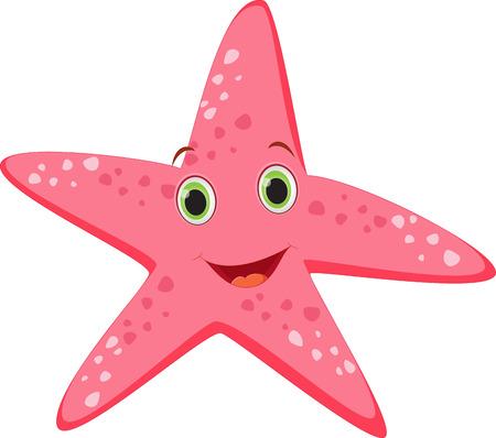 finger fish: cute starfish cartoon