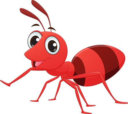 hormiga caricatura: linda de la historieta de la hormiga
