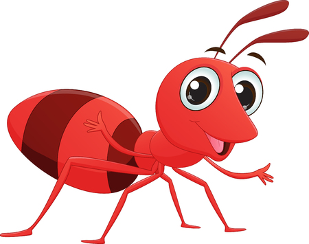 pincher: cute ant cartoon