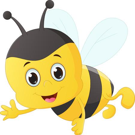 pollinate: cute bee cartoon