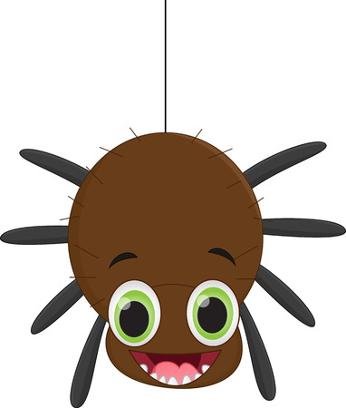 gossamer: Cute spider cartoon