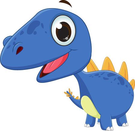 cute dinosaur: cute dinosaur cartoon