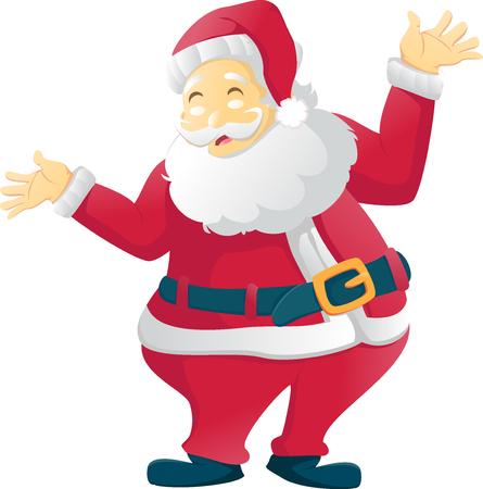 Santa Claus Cartoon character Illustration
