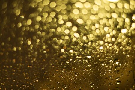 golden  gleam: Abstract Gold and yellow bokeh for background