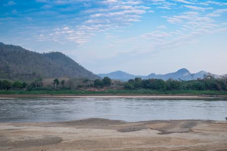 loei: Mountain landscape at Kaeng Khut Khu, Loei, Thailand