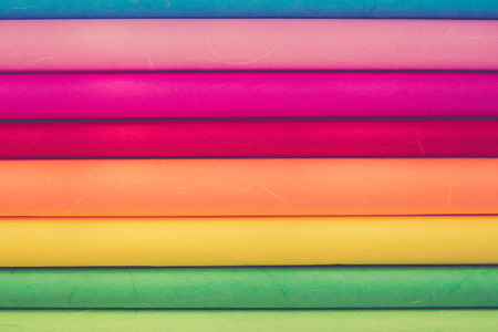 polychromatic: Close up of Rainbow paper for background