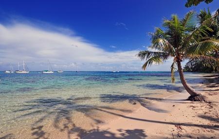 Moorea Island, French Polynesia, Tahiti Stock Photo